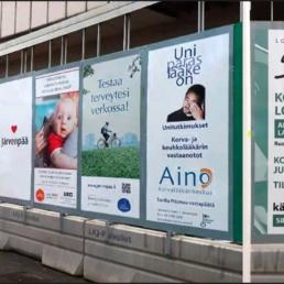 Perhelän mainospaikat ja julisteet