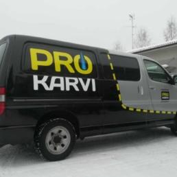 Pro Karvi-autoteippaus
